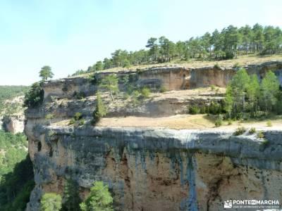 Escalerón,Raya,Catedrales de Uña;rutas hoces del duraton rutas en la pedriza viajes trekking la ho